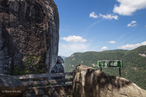 Devil's Head at Chimney Rock
