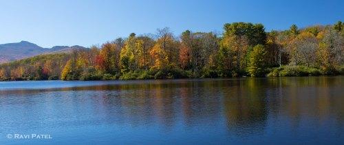 A Fall Lakeline