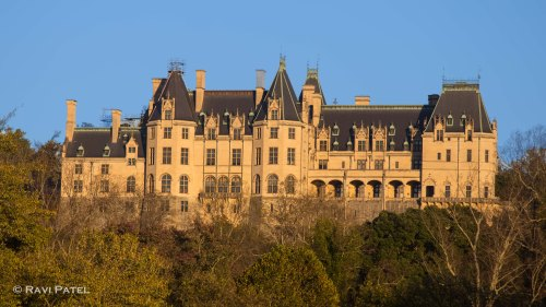 Biltmore House at Golden Hour