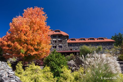 Fall Colors at Grove Park Inn
