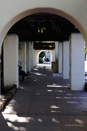 Inviting Walkway