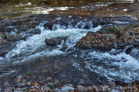 A Composition of Flowing Water