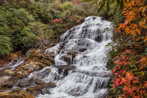 Fall Colors at the Waterfalls