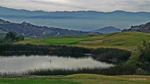 Golfing in Socal Mountains