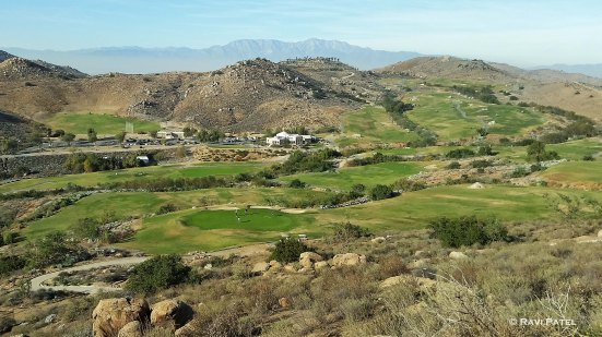 Golfing Midst Rocky Mountains