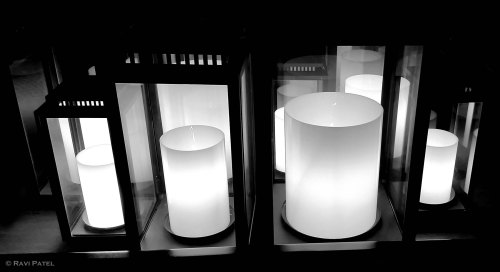 Lights in Black and White