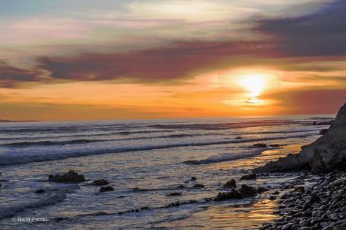 A Spectacular Ocean Sunset