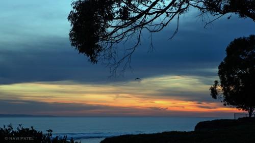 A Sunset Framed