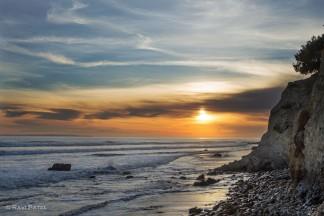 Glorious Ocean Sunset Sky