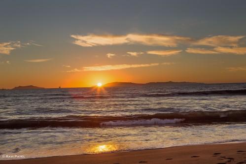 Sunset at Silverstrand Beach Oxnard