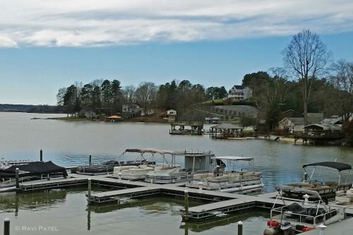 A Marina on Lake Hickory