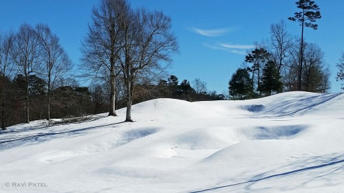 Mounds of Snow