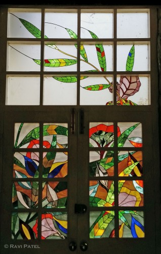 Flower Designs in Stained Glass
