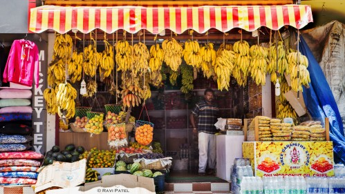 A Colorful Shop in Thekkady