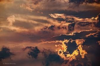 Brilliant Sunset Clouds