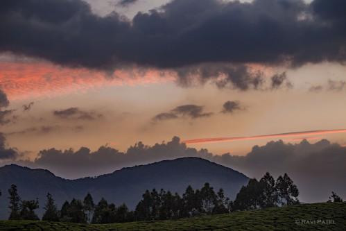 Colorful Haze at Sunset