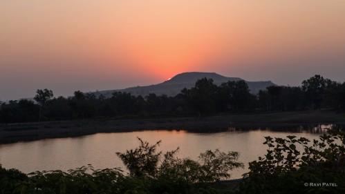 A Sliver Sunrise in Mandu