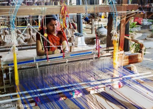 Focused on Weaving