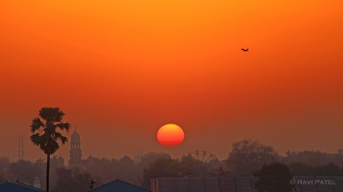 A Vadodara Sunrise
