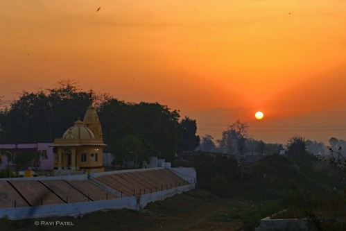 Sunrise at the Temple