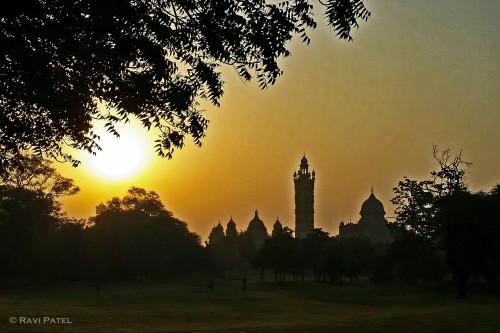 Sunsrise at the Maharaja's Palace