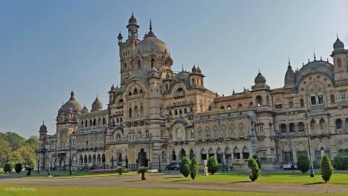 Tha Maharaja's Palace in Vadodara