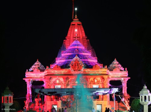A Colorful Temple