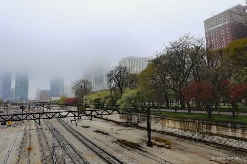 Fog Over the Railtracks