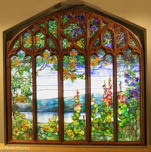 A Colorful Stained Glass Window