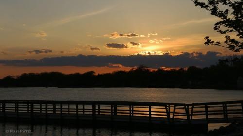 Bridge to a Sunset