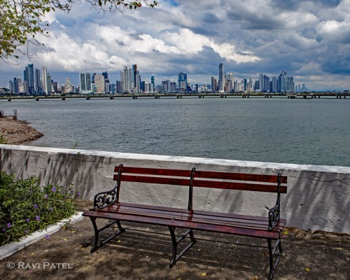 Panama City Over the Bench