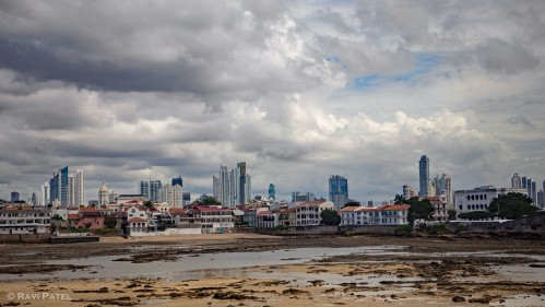 Skyline at Low Tide