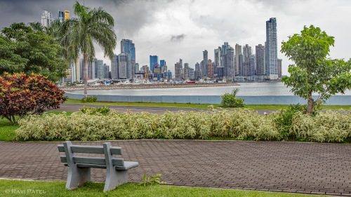 A Bench to View Panama City