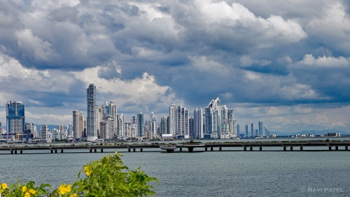 A Colorful View of Panama City