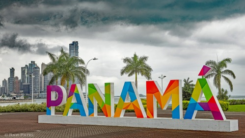 Colorful Panama on a Cloudy Day