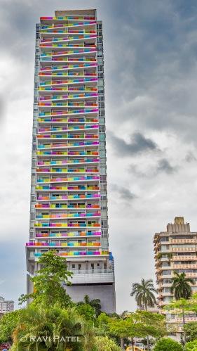 Multi-colored Balconies