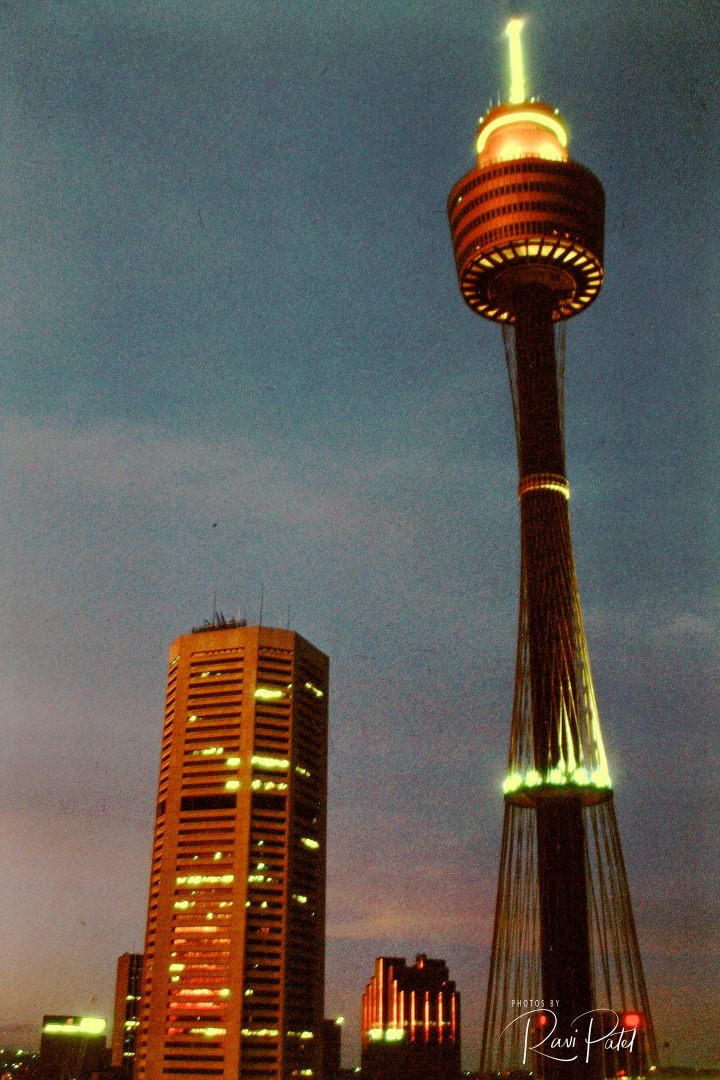 how to go to sydney tower